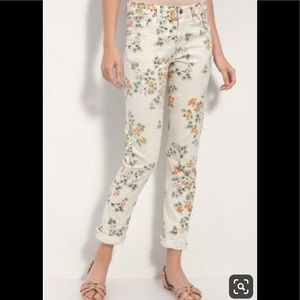 "Citizens of Humanity ""Mandy"" floral pants"